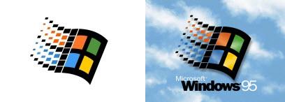 Logos : Windows 8 et Twitter > Creanum