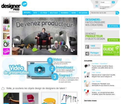 Designer Prod : financement participatif des créations > Creanum