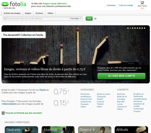 Fotolia lance la «Collection deviantART» > Creanum