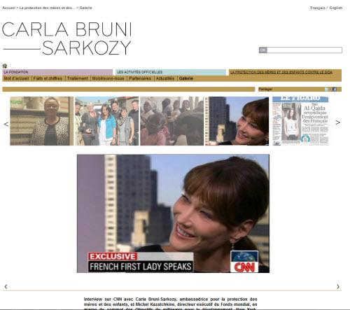 Carla Bruni : 132 756 euros pour quelques pages WordPress > Creanum