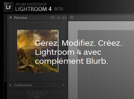 Créer un livre Blurb depuis Lightroom 4 > Creanum