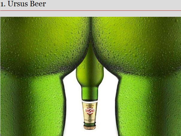 Les 30 publicités les plus osées > Creanum