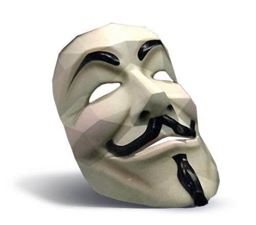 Le masque Anonymous à fabriquer > Creanum