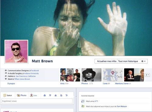 Des outils de personnalisation de la Timeline Facebook  > Creanum