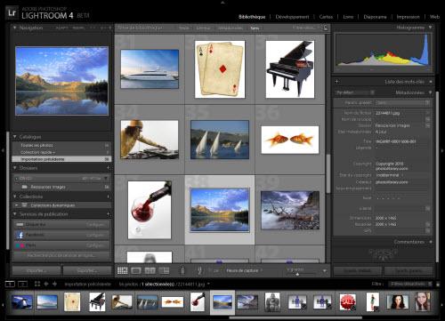 Adobe LightRoom 4 se dévoile un peu > Creanum