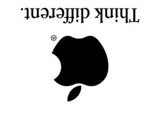 Logo Apple : think really different ? > Creanum