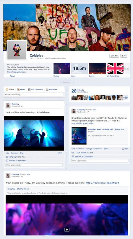 Design : les infos sur les changements des pages Facebook Fan/Entreprise > Creanum