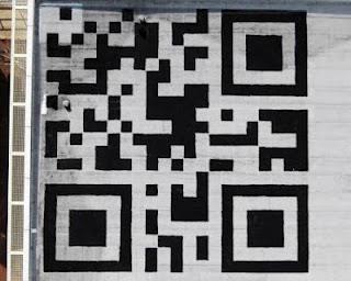 Un QR Code géant sur le toit des locaux de Facebook !  > Creanum