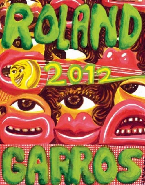 L'étrange affiche de Roland Garros 2012 > Creanum