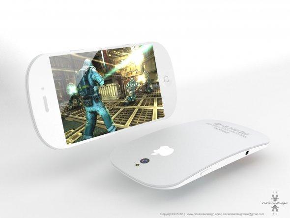 Un design délirant pour l'iPhone 5 ! > Creanum