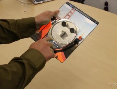 Un brillant et futuriste concept d'iPad > Creanum