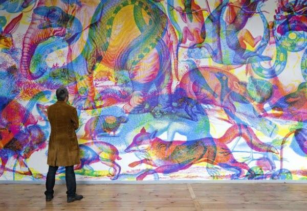 Du papier peint RGB psychédélique ! > Creanum