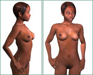 Personnage Poser : Olivia G2 > Creanum