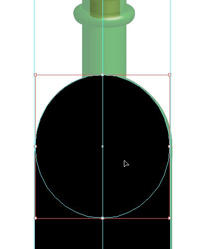 Dessiner une bouteille en 3D avec Illustrator > Creanum