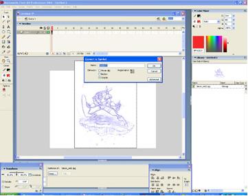 Colorisation dans Flash > Creanum
