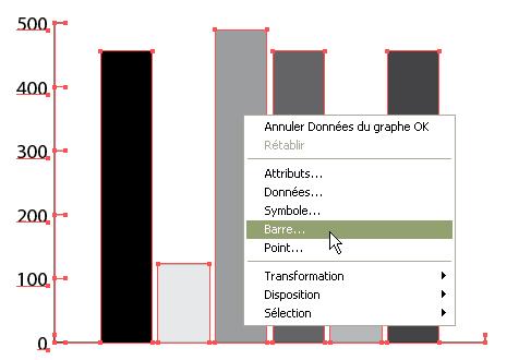 Illustrator : graph personnalisé > Creanum