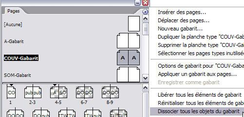 InDesign : numérotation automatique > Creanum