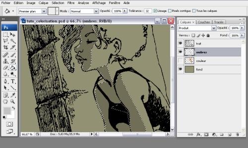 Colorisation simple d'un dessin > Creanum