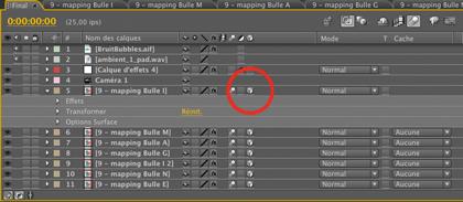 Mapper des lettres dans des bulles 3D animées (2e partie) , Création d'un titre ! > Creanum