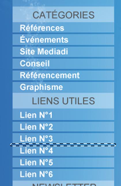 Créez une charte graphique prête à être développée sur Wordpress ! > Creanum