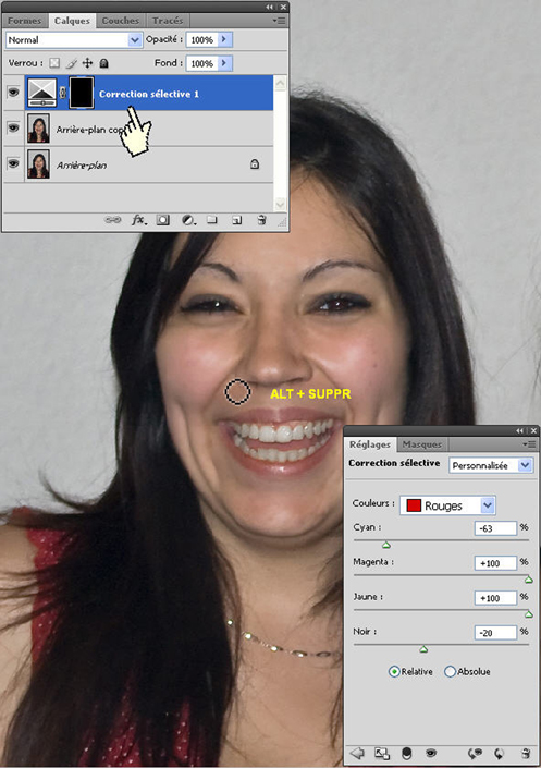 Photoshop CS4 : un portrait façon Warhol > Creanum