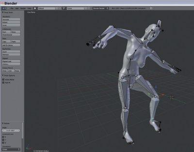 Créez et animez vos personnages 3D > Creanum