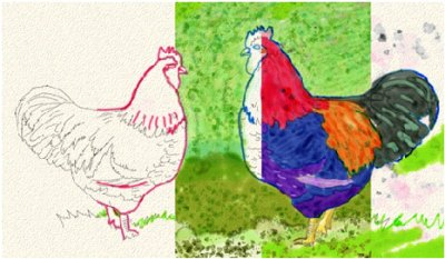 «Huile grasse» et «Aquarelle réaliste» avec Corel Painter 12 > Creanum