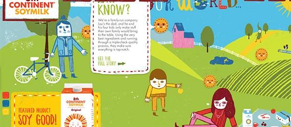 Inspiration #9 : 20 templates de sites web tout en couleurs !  > Creanum