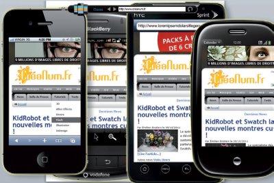 Tester la compatibilité de vos sites sur de nombreux smartphones > Creanum